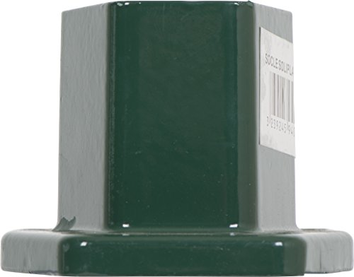 Clotures Place Socle Primo Coloris Vert, 3239245940117, Vert 6005, 11.7x9.5x7 cm, , SOCLEPRIMV