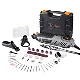 Rotary Tool, Tacklife RTD36AC 200 Watt with 63 Work Tools and 4 Handy