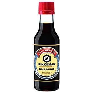 KIKKOMAN Soja-Sauce, 1er Pack (1 x 150 ml)