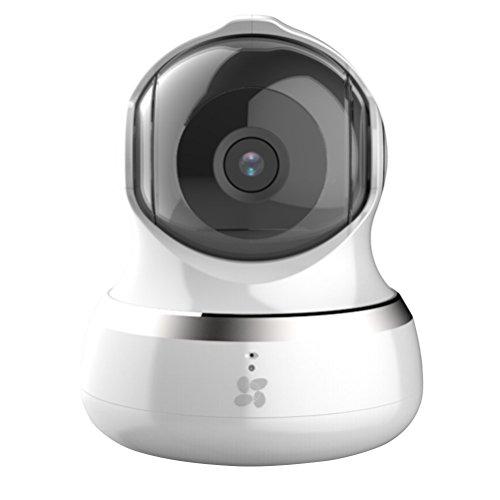 EZVIZ C6B 960P HD Ip Cámara de seguridad, 2.4Ghz Wi-Fi Pan/Tilt Audio Bidireccional, Seguimiento Inteligente, Máscara de Privacidad, Visión Nocturna, Servicio de Nube Disponible