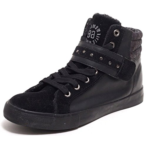 Damen Sneaker Bootie Turnschuhe Freizeit Winter Schuhe Sneaker Gr. 37 Schwarz