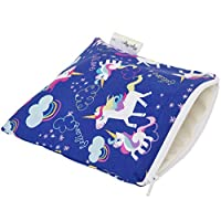 Itzy Ritzy Swb8310 Snack Happens Reusable Snack and Everything Bag, Unicorn Dreams