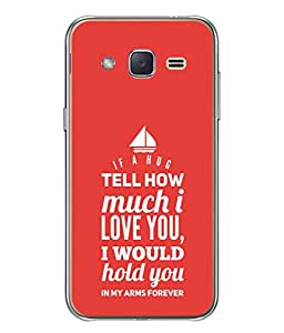Fuson Designer Back Case Cover for Samsung Galaxy J3 (6) 2016 :: Samsung Galaxy J3 2016 Duos :: Samsung Galaxy J3 2016 J320F J320A J320P J3109 J320M J320Y (Would Hold You In My Arms Daily Single Married)