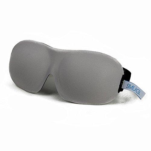 Antifaces para dormir opacos contorneados 3D para terapia deportiva de SMUG Activo