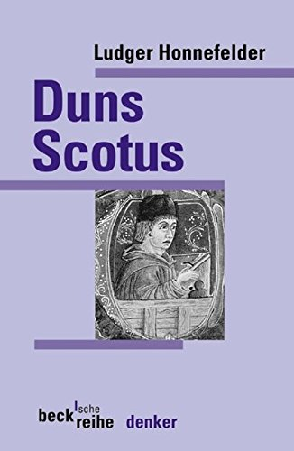 Johannes Duns Scotus (Beck'sche Reihe)