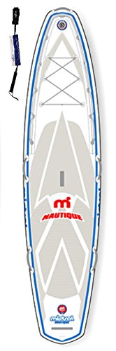 Mistral Nautique 11'5 Standup Paddel Board aufblasbar inkl. SUPwave.de Coil-Leash, Stand up Paddle Board iSUP