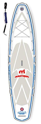Mistral Nautique 11'5 Standup Paddel Board aufblasbar inkl. SUPwave.de Coil-Leash, Stand up Paddle Board iSUP