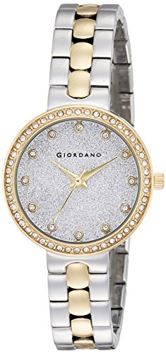 Giordano Analog Silver Dial Women\'s Watch-A2068-55