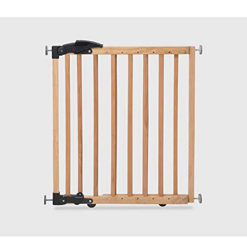Geuther 2714 NA Türschutzgitter zum Klemmen oder Schwenken 2in1, 2714, in natur, Verstellbereich, 68-102 cm, braun, 3.9 kg