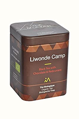 "Thé bio ""LIWONDE CAMP"" - Thé noir au Chocolat & Fruits rouges"