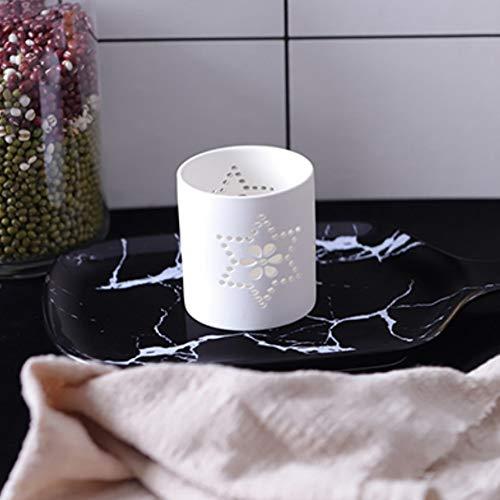 zenhalter Keramik Kerzengläser Kerzenständer Laterne dekorative Hochzeit Mittelstücke, 3 ()