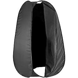 Neewer 10080167 183 cm Cabine d'Essayage Portable Tente Pop-up pour Photo Studio avec Housse de Transport- Couleur Noire