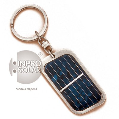 Schlüsselanhänger Solarpanel rechteckig