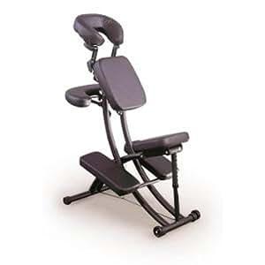 """Chaise de Massage """"Portal Pro"""" - Noir"""
