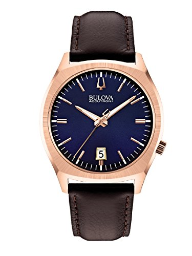 bulova-unisex-armbanduhr-surveyor-analog-quarz-leder-97b133