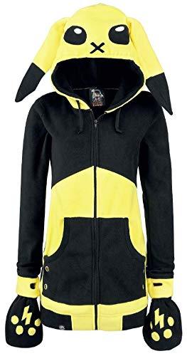 Cupcake Cult - Pokemon Hoodie Fleece-Jacke, schwarz, Grösse XL Cupcake-hoodie