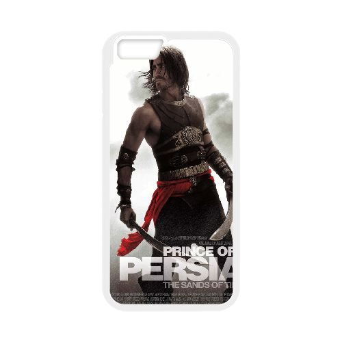 Dastan Prince Of Persia The Sands Of Time coque iPhone 6 Plus 5.5 Inch Housse Blanc téléphone portable couverture de cas coque EBDXJKNBO14537
