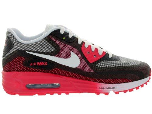Nike, Wmns Air Max 90 C3.0, Sneaker,Donna Geranium/White-Anthracite-VOLT