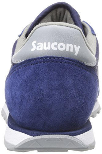 Saucony Jazz Low Pro mixte adulte, toile, sneaker low Blu-Gry