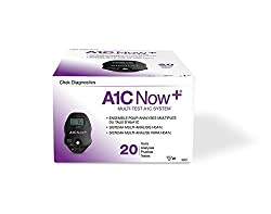 A1CNow+ PTS Diagnostics 4301258 PT 3021 Test A1C Now HbA1c CLIA Waived 20 Count Box