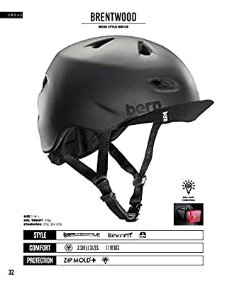Bern Men's Brentwood with Flip Visor Cycling Helmet by Bern