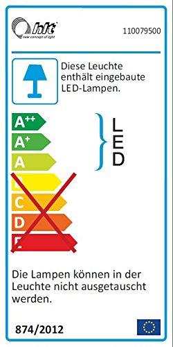 trendteam AR Wohnwand Wohnkombination Anbauwand | Weiß | Eiche Sägerau Hell | 425 x 199 cm | Inkl. LED Beleuchtung - 2