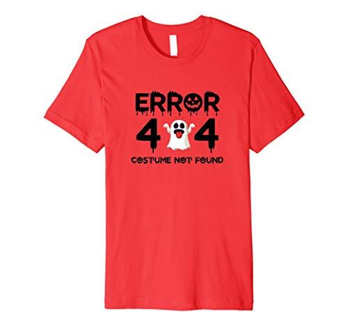 Fehler 404 Kostüm nicht gefunden Halloween Shirts