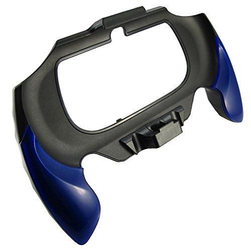 Pandaren PS Vita PSV 2000 poignée étui de protection avec la construction à l'arrière était la conception (bleu)