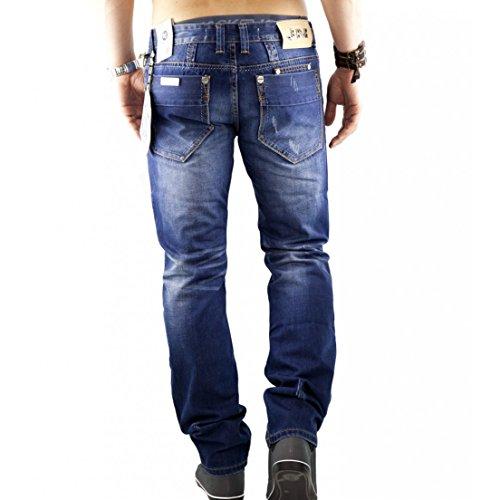JEANSNET JNS2027 Herren Jeans Hose Comfort Fit 1284 NEU Blau (Blue Denim Fit:COMFORT)