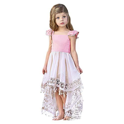 Allence Baby Mädchen Kleid Prinzessin Hochzeit Taufkleid Blumenmädchen Festlich Kleid Kleinkind Festzug Kleidung