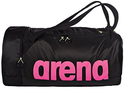 arena Bolsa de natación Fast Duffle 40L, Unisex Adulto, Fuchsia Black, TU