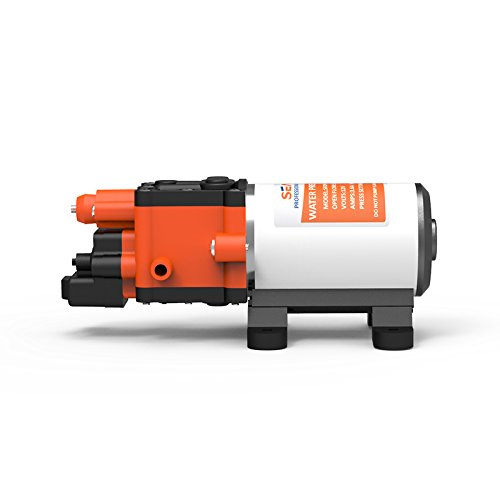 SEAFLO Membran Hochdruck-Waschpumpe 12 Volt Pumpen 5LPM 100 PSI für Wohnwagen Marine Wohnmobil Boot Landwirtschaft Spritzen Automatikschalter -