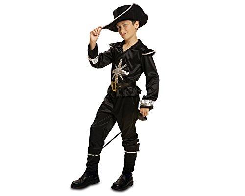 Imagen de my other me  disfraz de mosquetero, talla 7 9 años, color negro viving costumes mom01188