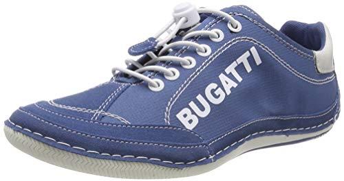bugatti Herren 321480075900 Sneaker, Blau, 42 EU