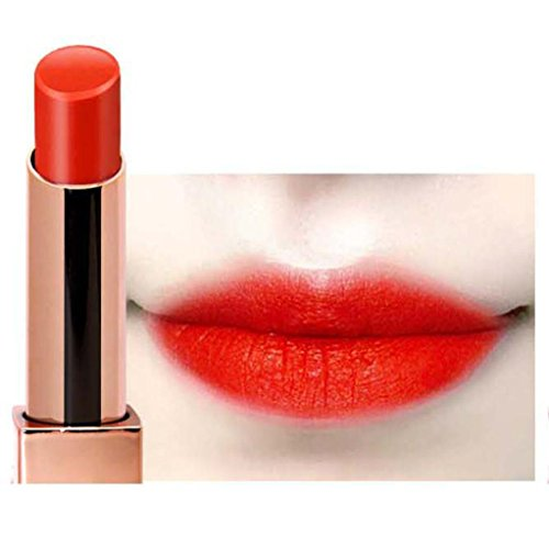 12Farben Sexy Frauen Damen Matt Lippenstift Lipglosse, mingfa Wasserdicht Langlebig und robustes Shimmer Glitzer Metallic Lipgloss a