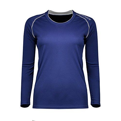 ID Urban - T-Shirt de sport à manches longues - Femme Noir