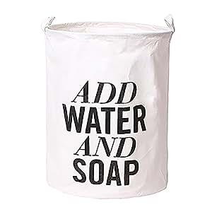 jiacheng29wasserfest faltbar Print Tuch Wäschekorb Korb Bin Aufbewahrungstasche, Stoff, Add Water, Einheitsgröße