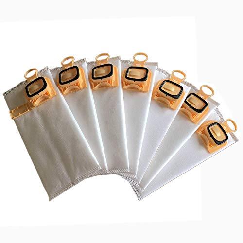 J&T 6 Sacs d'aspirateur Microfibre + 1 Filtre de Protection du Moteur + 6  Parfum Blocks pour Votre Vorwerk Kobold 140/150/VK 140/VK 150