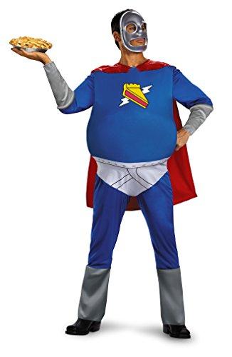 Homer Pie-Man Adult Costume - Man Kostüm Pie