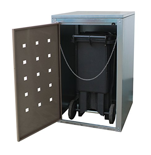 Geiger Mülltonnenbox Metall 120l Color Anthrazit - 3