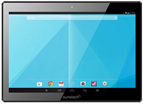 Preisvergleich Produktbild Sunstech TAB106OCBT16GSL Tablet 10.1(Bluetooth + WiFi, Octa Core Allwinner A83T, 2GB RAM, 16GB interner Speicher, Android) Silber