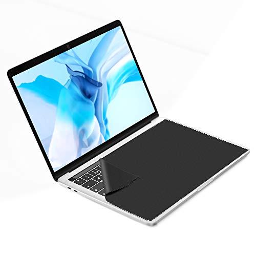 3X GRUTTI Mikrofasertücher - 15 Zoll Mikrofaser Display Schutztuch. Microfasertuch zum Bildschirm Schutz vor Schmutz auf der Laptop Tastatur. Microfaser Reinigungstücher zur Notebook Reinigung