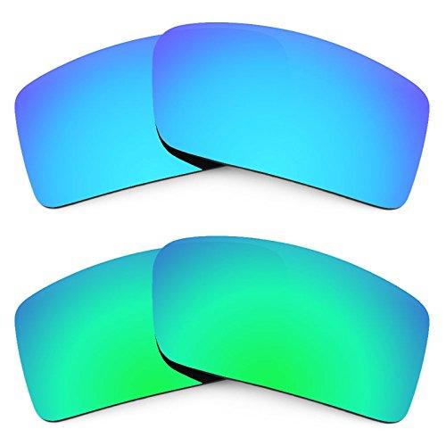 Revant Ersatzlinsen für Oakley Gascan Small Polarisiert 2 Paar Kombipack K006