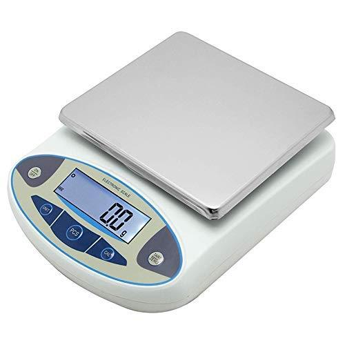 CGOLDENWALL 10kg/0.1g Laboratorio electrónico de alta precisión Blance analítico industrial Cuenta de balanza de conteo Pantalla digital Medidor de peso de uso en el hogar
