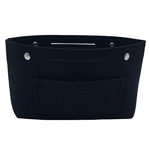 3d905053b1 HyFanStr Organizer borsa bag in bag Organizzatore cosmetici borsa Sacchetto  Deposito Borsa Nero S