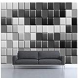 Fotomurale Plaid bianco 3D 3D HD Natale dire Divertente Art Room The Paint Rolled Decor Living Office e paesaggio domestico