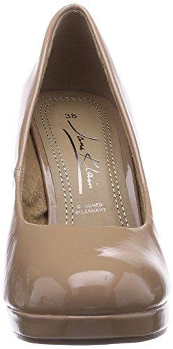 Klain plateau Chaussures Beige avec 777 Beige beige Jane à talons femme 224 407 pwd0tz1Wxq