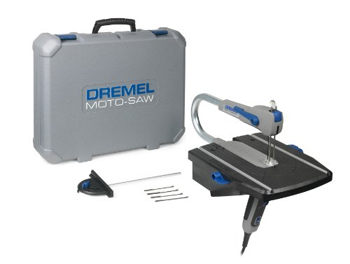Dremel Moto-Saw MS20-1/5 2-in-1 Compact Scroll Saw Full setup