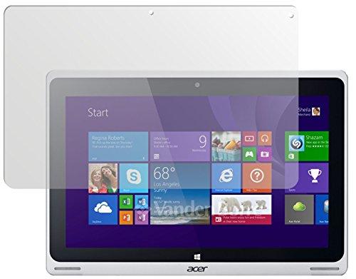 dipos I 2X Schutzfolie matt passend für Acer Aspire Switch 10 FHD Folie Bildschirmschutzfolie