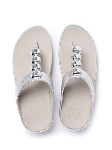 FitFlop Rola, Tongs Femme, Various Argent